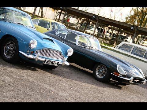 Aston Martin Db4 Vs Jaguar E Type Youtube