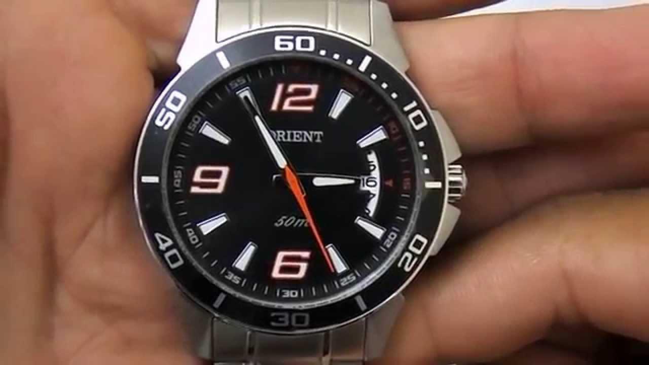 52e4782fffa Relógio Masculino Orient Mbss1146 - YouTube