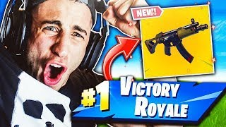 FORTNITE: REAL VITTORY WITH THE NEW MP5, DEVASTANTE!