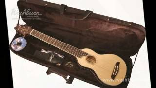 Washburn RO10 Rover Travel Acoustic Guitar Demo