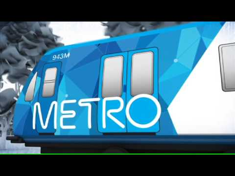 Animation of Melbourne's new train operator