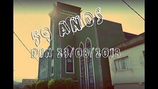 Rev. Ludgero Bonilha. Pregação dia 23/08/18