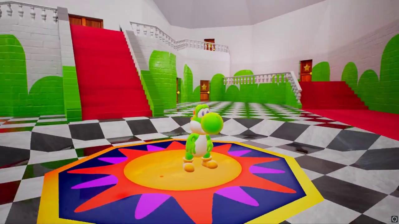Yoshi's Castle Gameplay | UE4 - YouTube