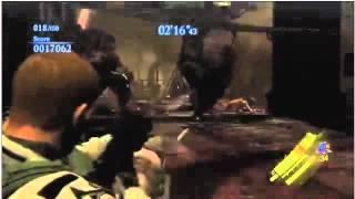 Resident Evil 6: Mercenaries Mode gameplay