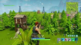 Fortnite trying to get 1st place.