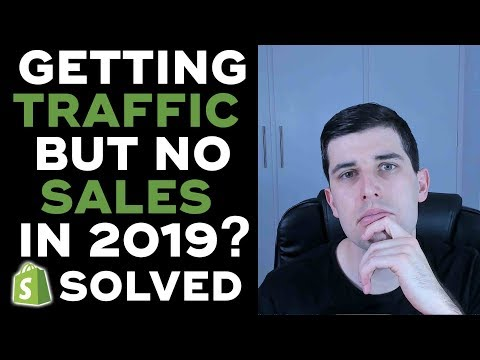 Getting Traffic But No Sales In 2019?  SOLVED! (Shopify Store Reviews LIVE!) thumbnail