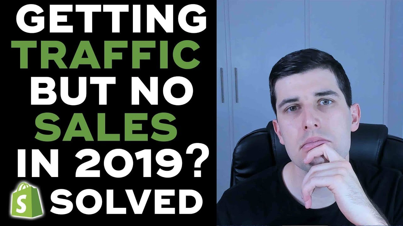 Why 99% of People Fail on shopify  || Getting Traffic But No Sales In 2019?  SOLVED!