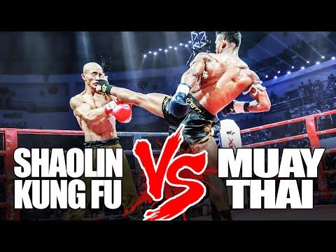 Kung Fu vs Muay Thai Kickboxing