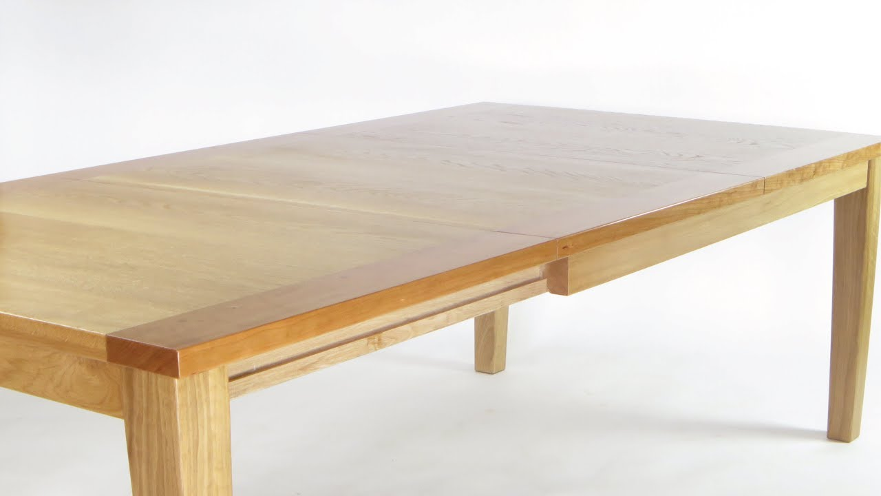 Extension Table Sliding Dovetails Youtube