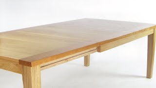 extension table (sliding dovetails)