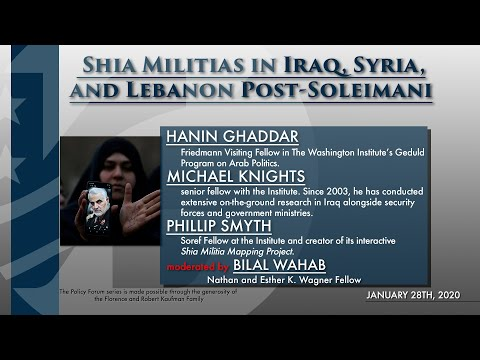 Shia Militias in Iraq, Syria, and Lebanon Post-Soleimani