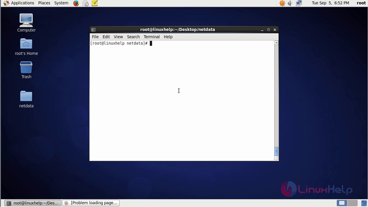 How to install Netdata on CentOS 6 9   LinuxHelp Tutorials