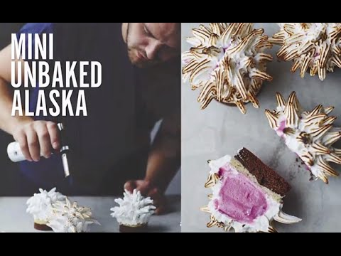John Whaite Bakes At Home - Mini Unbaked Alaska