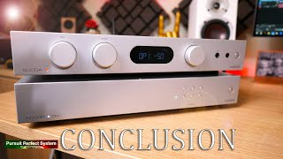 audiolab 6000A 6000N PLAY HiFi Amp WiFi Streamer DAC Phono Stage Headphone Amp REVIEW CONCLUSION