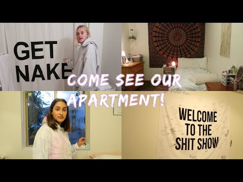 OUR COLLEGE APARTMENT TOUR