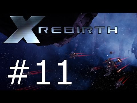 Let's Play X Rebirth - Part 11 - Tutorial on capturing ships.