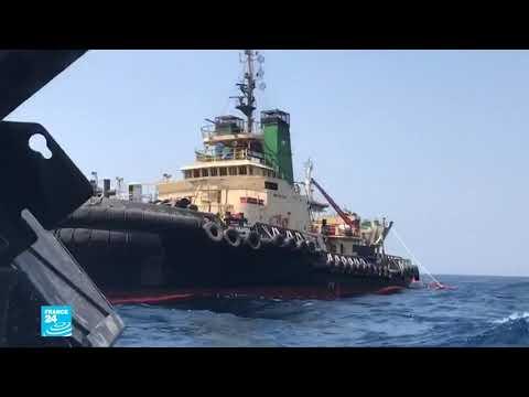 من يقف وراء تفجير لغم في سفينة راسية في مرفأ الشقيق السعودي على البحر الأحمر؟