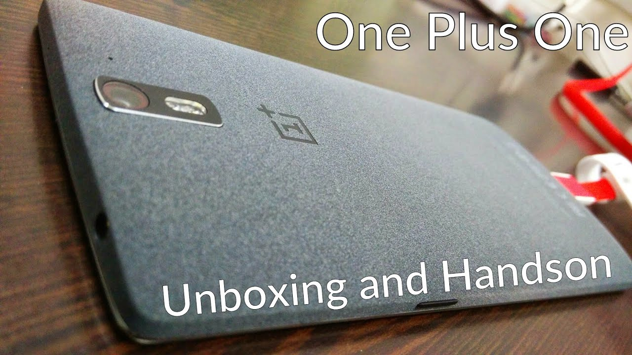 One Plus One 64Gb Sandstone Black- Unboxing and hands on ...