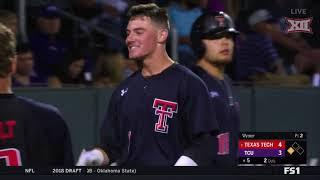 Texas Tech vs TCU Baseball Highlights - Apr. 27