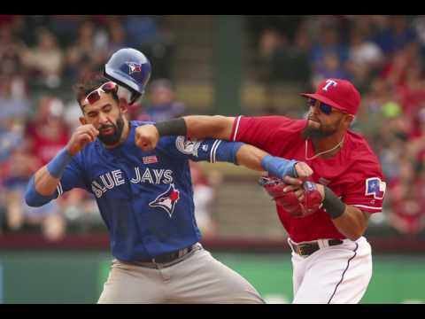 Toronto radio call of Rougned Odor/Jose Bautista brawl (May 2016)