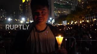 Hong Kong: Candlelight vigil marks 30th anniversary of Tiananmen Square massacre