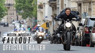 Mission: Impossible - Fallout (2018) - Official Trailer - Paramount Pictures thumbnail
