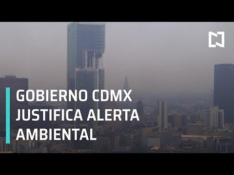 Gobierno CDMX justifica alerta ambiental, en lugar de contingencia - Paralelo 23