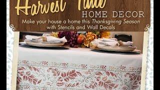 Fall Stencils & Wall Decals - Royal Design Studio Thumbnail