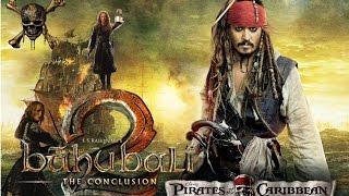 Bahubali 2 Trailer | Pirates of the Caribbean | Hindi