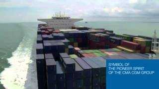 Largest Container Ship in the World: CMA CGM Marco Polo (VIDEO)