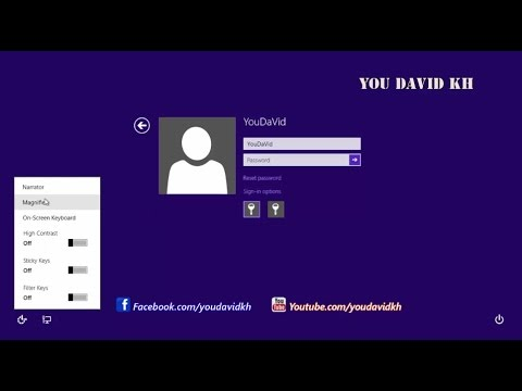 how to find windows 8 password