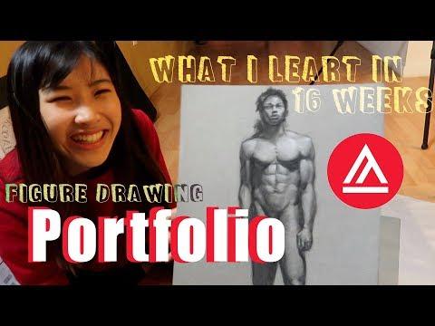 Academy Of Art San Francisco// My Figure Drawing Portfolio