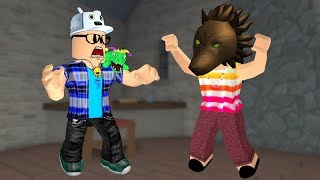 ROBLOX: AUNTIE GRAÇA TROLLOU ME IN THE GAME OF WEREWOLVES!! -Play Old man