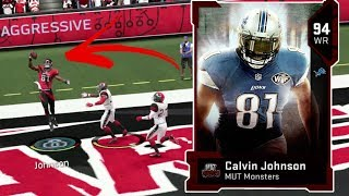 MOST FEARED CALVIN JOHNSON!! MADDEN 19 ULTIMATE TEAM GAMEPLAY