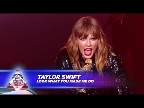 Taylor Swift - 'Look What You Made Me Do' (Live At Capital's Jingle Bell Ball 2017)