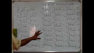 Arabic Grammar Lecture 14 (Urdu)