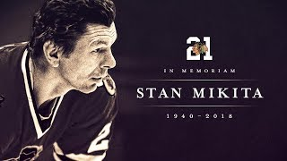 Blackhawks mourn passing of Stan Mikita