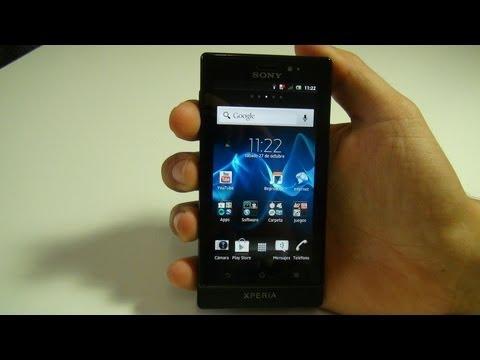 Videoreview Sony Xperia Sola HD [ESPAÑOL]