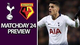 Tottenham v. Watford | PREMIER LEAGUE MATCH PREVIEW | 1/30/19 | NBC Sports