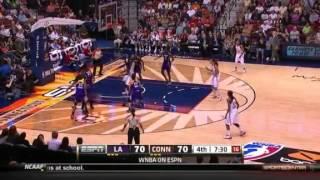 WNBA 2012 Highlights: Los Angeles Sparks - Connecticut Sun