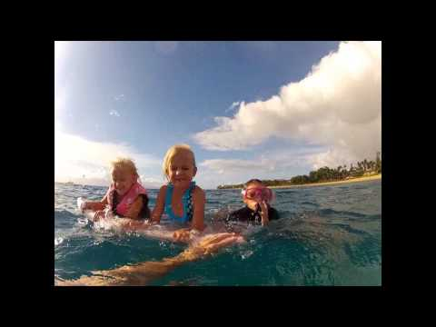 Kids Swim with Dolphins in Maui