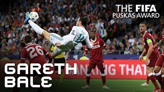 #puskasaward GARETH BALE GOAL – VOTE NOW!