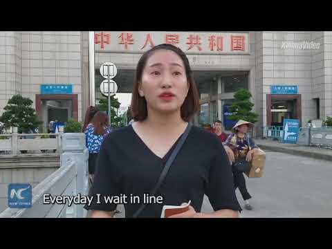 Vietnamese Women Seek Job In China's Guangxi