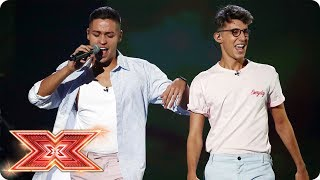 Jack & Joel perform Camila Cabello & Nicky Jam medley | Live Shows | The X Factor 2017