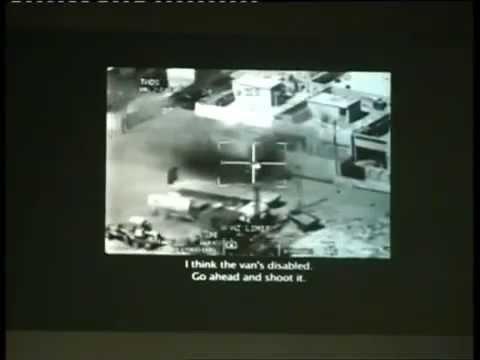 Ex SAS soldier Ben Griffin commentary: Wikileaks 'Collateral Murder' video Iraq (2007)