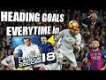 HOW TO SCORE HEADING GOALS IN DREAM LEAGUE SOCCER