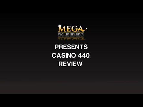 Casino 440 Review Ratings By Megacasinobonuses Youtube