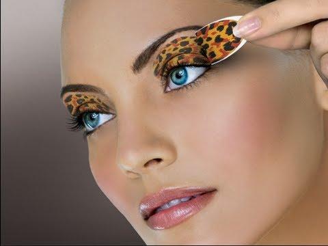How to: DIY Press on TATTOO Eyeshadow! - YouTube