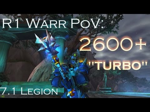 "7.1 | 2600+ ""Turbo Dream"" R1 Warr PoV!"