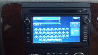 How to Use the GM Navigation: Tahoe, Suburban, Avalanche, Silverado and Traverse